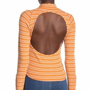 NWT Free People Sunday Afternoon Cutout Top